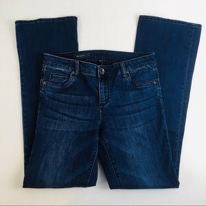 Kut From The Kloth Baby Boot Cut Dark Denim Jeans